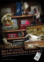 Affiche du spectacle Gare St-Bazar, bureau des objets trouvés…