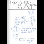 Théâtre pour les petits à Bienne: Clara et N. Pittet
