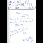 Théâtre des marionettes à Fribourg: Laetitia, Laure et plus